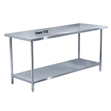 Best quality bakery kitchen stainless steel work table
