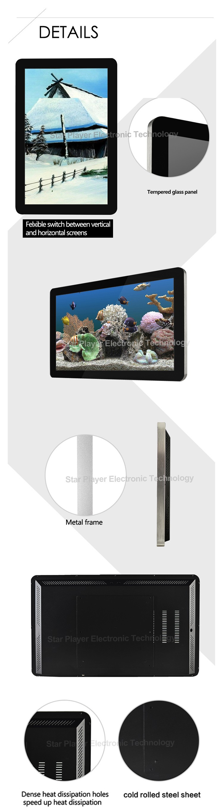 Factory Price 32 Inch Touch Screen Android Led Video Wall Panel - Buy  Android Led Wall Panel,32 Inch Led Wall Panel,Led Video Wall Panel Product  on
