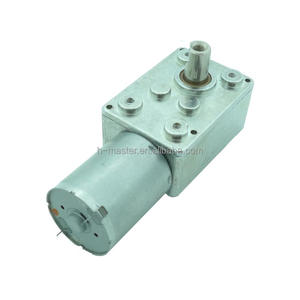 12V DC Worm square Gear Motor for Parking lock