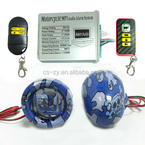 New Product , DIY Speakers Motorcycle Accessory , Motorcycle Alarm MP3