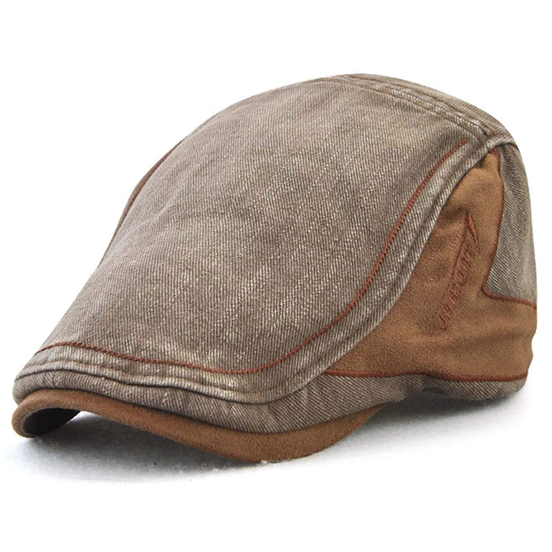742abc19 Get Quotations · XRDSS Men's Cotton Flat Cap Ivy Gatsby Newsboy Driving  Hunting Hat