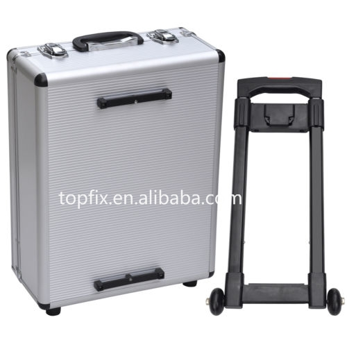 399pcs Professional Hand Tools Plastic Wheel Trolley Tool Box <strong>Set</strong>