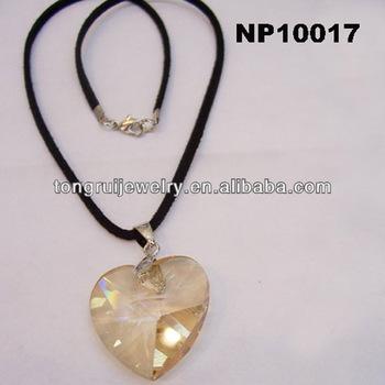 Crystal sacred heart crystal pendant necklace buy crystal pendant crystal sacred heart crystal pendant necklace aloadofball Images