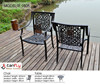 Stackable rattan furniture garden set
