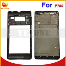 Original Full Housing Complete Cover Case For Lenovo P780 (Mid Frame +Battery/Back Case +Back Plate ) With Buttons Replacement