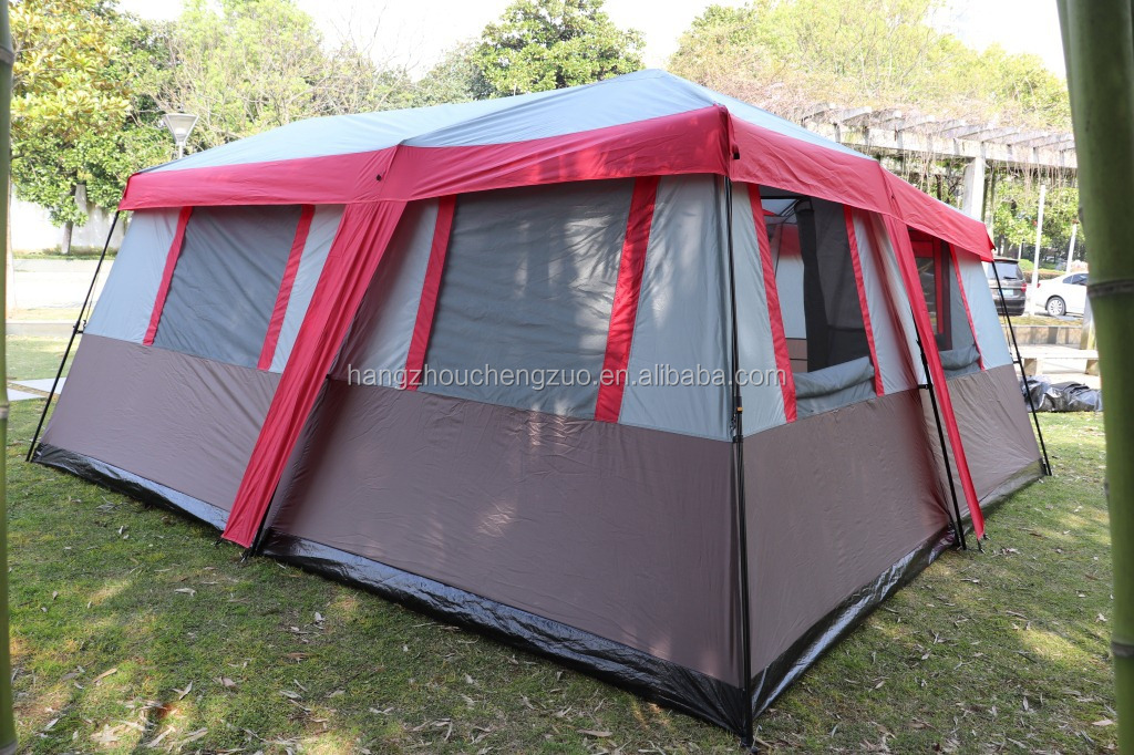 3 Room Trail Family Camping Tent 12 Person 3 Room Camping Trailer Tent With Awning Czx 317 Instant Straight Wall Cabin Tent Buy Tent Instant Straight Wall Cabin Tent Trailer Tent Product On Alibaba Com