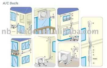 A/c Ducts,Air Conditioner Plastic Ducting - Buy A/c Ducts,Ducts,Air  Conditioner Pvc Duct Product on Alibaba com