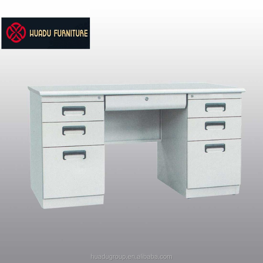 2017 Popular cheap office executive steel modern office desk set furniture ISO9001 HDZ-03 wholesale price