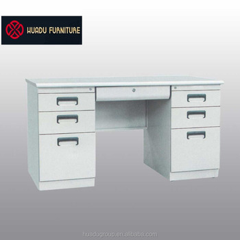 2017 Popular Cheap Office Executive Steel Modern Office Desk Set Furniture  ISO9001 HDZ 03 Wholesale