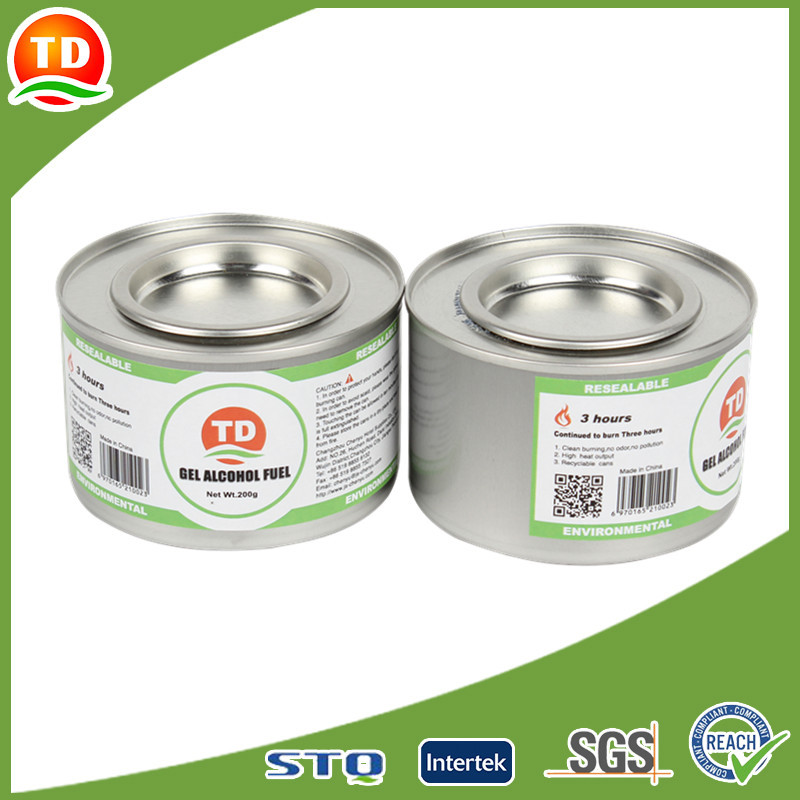 restaurant chafing dish fuel gel methanol and ethanol