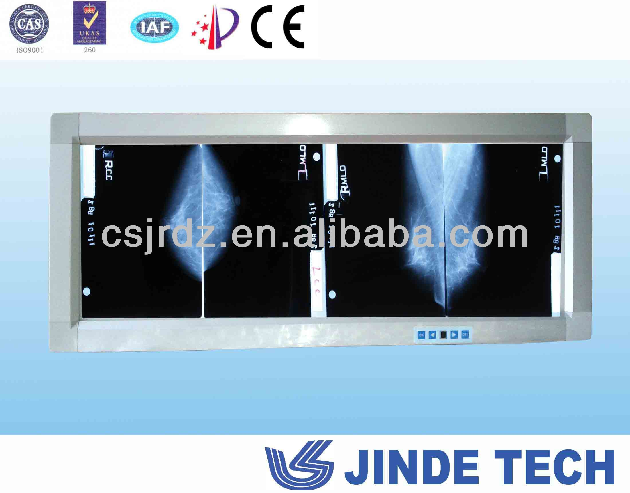 JINDE Observe light for Mammography x ray