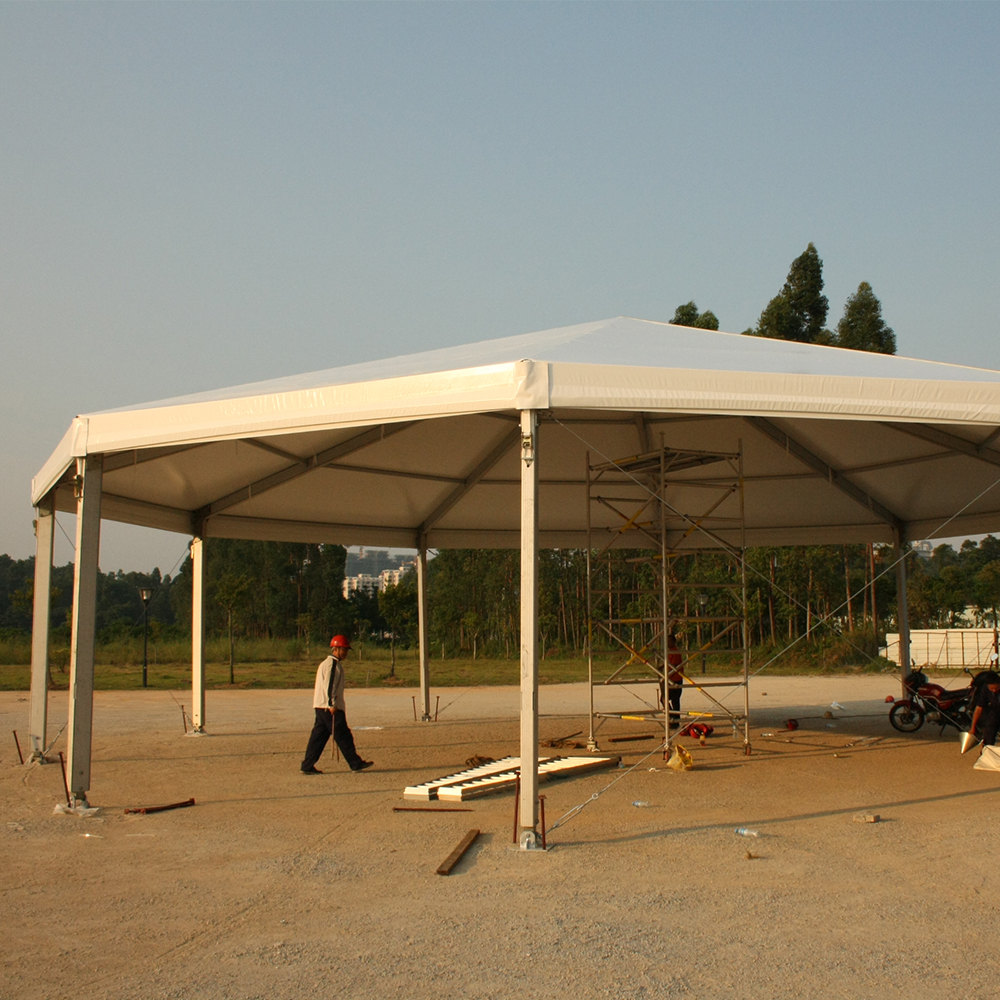 Customized Aluminum Frame Multi Side Party Event Tent Marquee Pagoda Tent