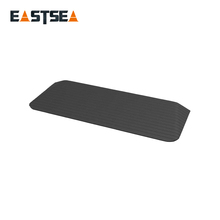 Ali baba Black Road Safety Durable Rubber Threshold Ramp