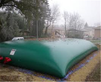 Pvc Tarpaulin Portable And Emergency Drinking Water Storage Bladder Bag Tank Inflatable