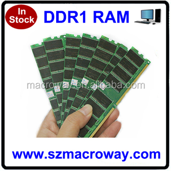 Low density ETT chips 1gb 4gb(2x2gb) ddr pc3200 ram