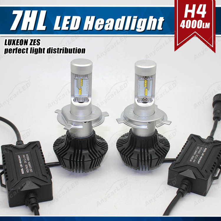 7G Hi-Low beam H4 car motorcycle daewoo nubira matiz headlight