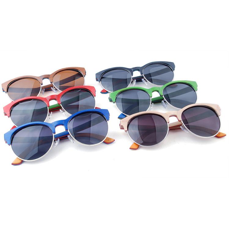 2524895d1 Zogift New Vintage Rodada lentes Óculos de Sol Dos Homens/mulheres  Polarizada Retro Revestimento óculos