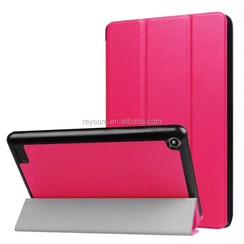 For Amazon kindle fire HD 7 2017 flip cover case ultra- thin smart cover case for kinldle fire hd7 2017