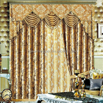 Motorized Fire Retardant Luxury Curtains Design Living Room Curtains
