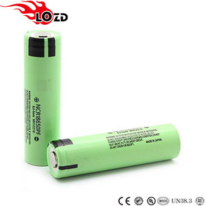 nominal capacity 3.7V 18650 cell ncr 18650pf types of rechargeable batteries