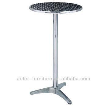 Beau Stainless Steel Top Stand Up Aluminium Folding Long High Bar Table   Buy  Bar Table,High Bar Table,Long Bar Table Product On Alibaba.com