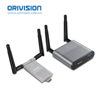 Air Mini 200M/656FT 2.4GHz / 5GHz Wireless WIFI HDMI Audio Video Extender Transmitter Sender Receiver Kit With IR Loop Out
