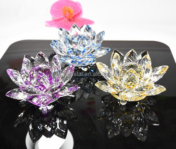 Large crystal lotus flower feng shui home decoration buy crystal large crystal lotus flower feng shui home decoration mightylinksfo