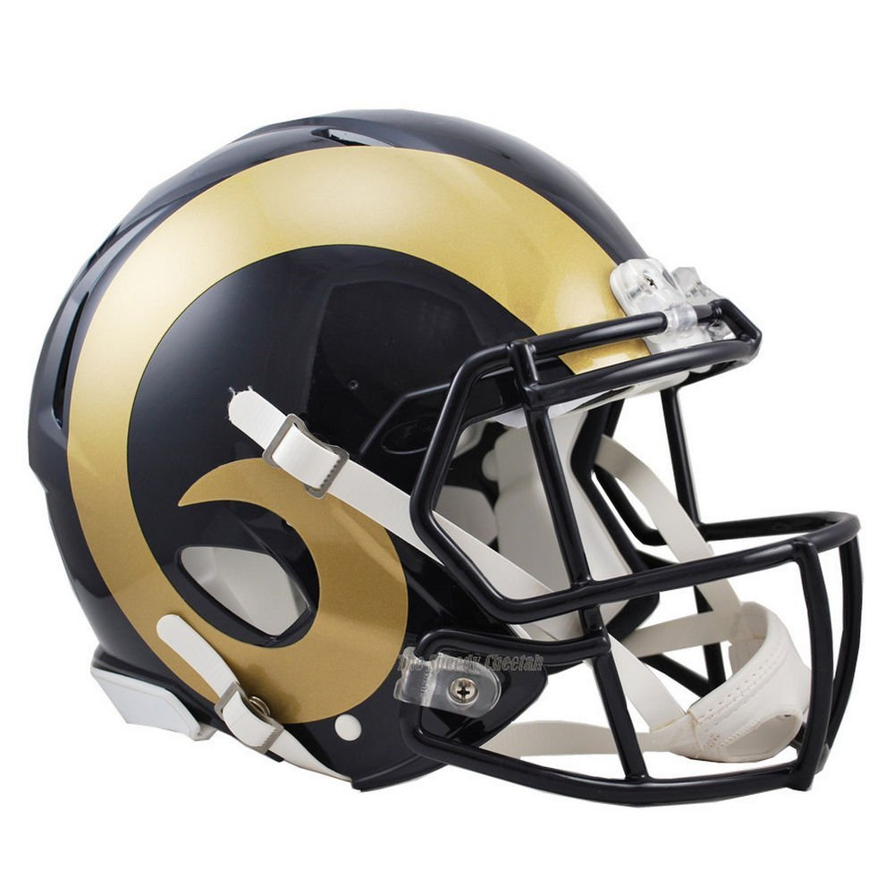 St. Louis Rams Officially Licensed NFL Revolution Speed Authentic Football Helmet