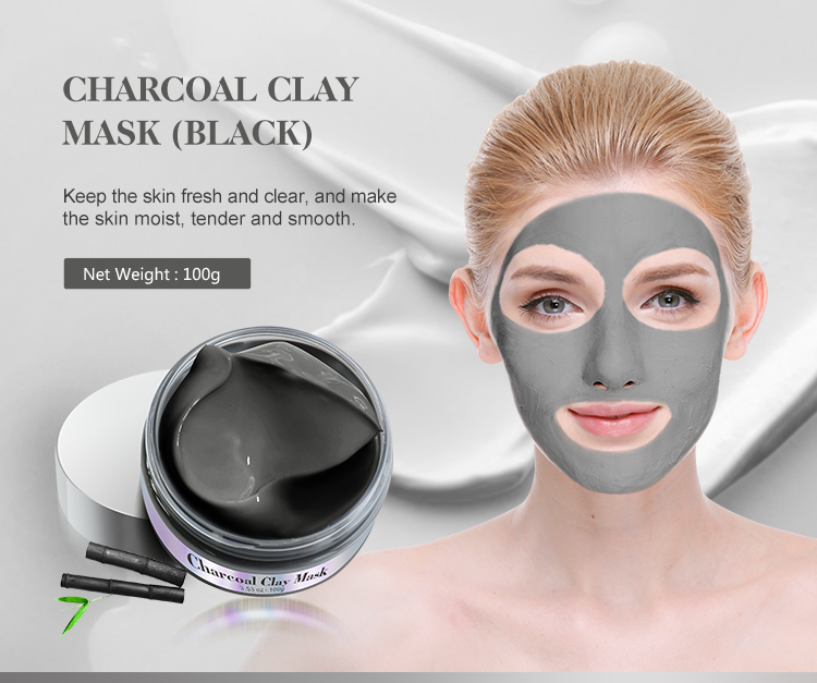 Mond'sub Cleansing Bentonite Black Clay In Face Message Mask