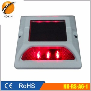road stud solar reflectors led driveway strobe light