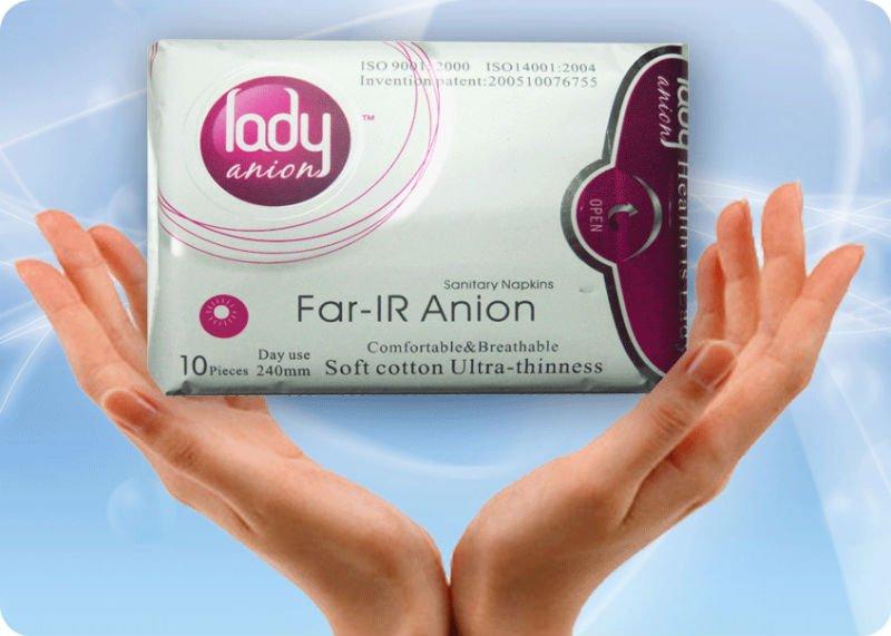 Toallas Sanitarias Lady Anion