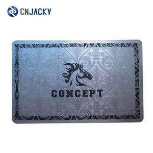 Preprinted High Security Membership Card VIP Card with 125KHz 13.56MHz UHF Chips / Access Control ID Card