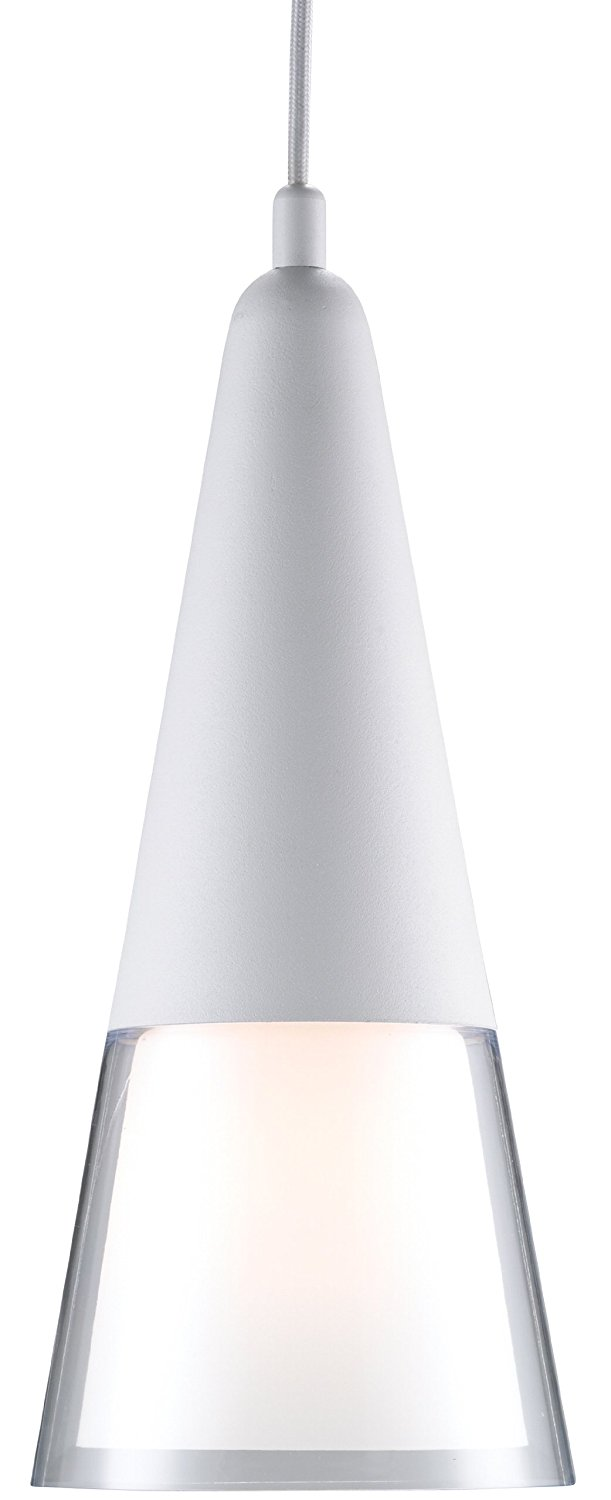 Adesso 3277-02 Beacon Pendant, White