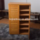 2 louvered door wooden shoe cabinet