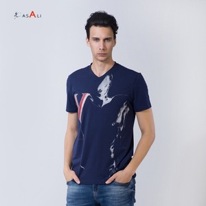 custom made clothing manufacturers China wholesale casual custom t shirt printing for men