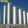 Competitive galvanized steel used grain silos prices for sale
