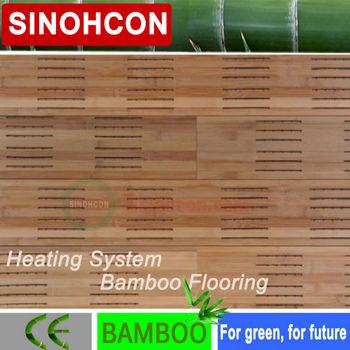 China Eco Friendly Heating System Bamboo Floorings Buy