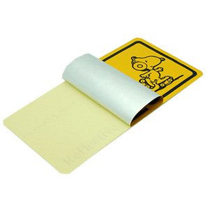 Best sale reflective label sticker, low price reflector sticker