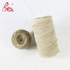 cotton/poly twine for sale gift wrap colored cotton twine