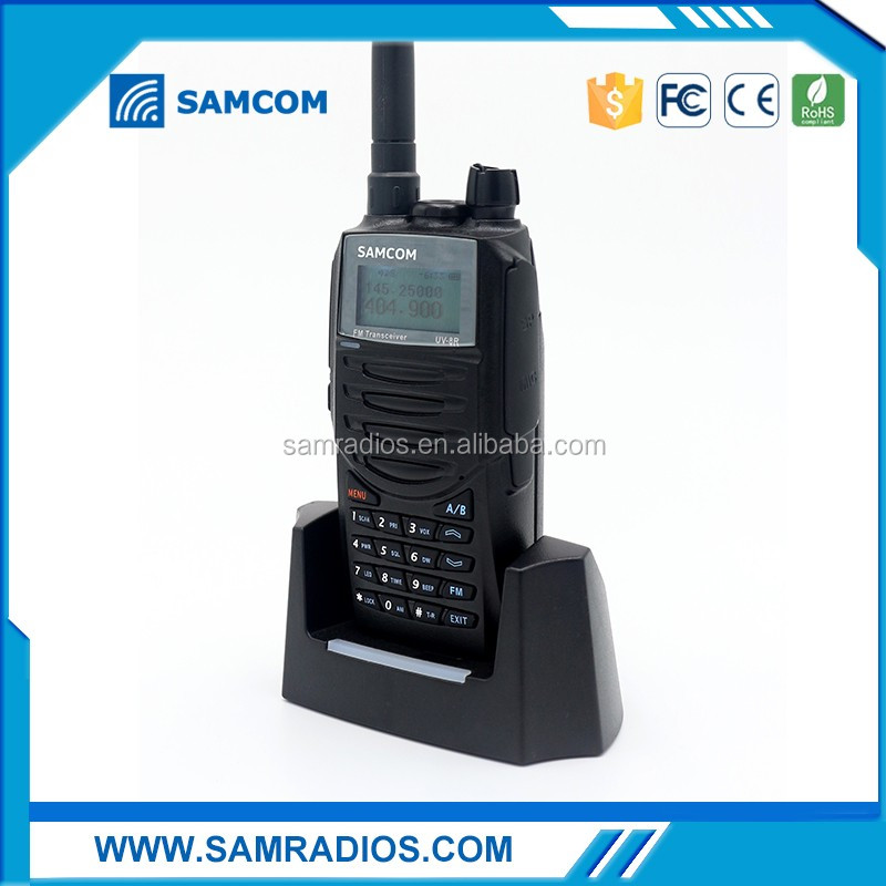 Smart full-duplex Transceiver ham radio SAMCOM AP-400UV for group communication
