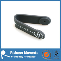 N35 disc magnet magnetic fridge clip silicone coated magnets