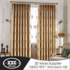 New arrival popular colorful household fabric window curtain with best quality and low price