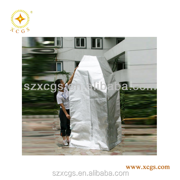 Tear notch electrostatic discharge printed aluminum foil bag ,ESD aluminium foil bag, aluminum foil packaging bags