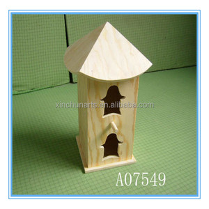 Art minds wooden birdhouse wholesale
