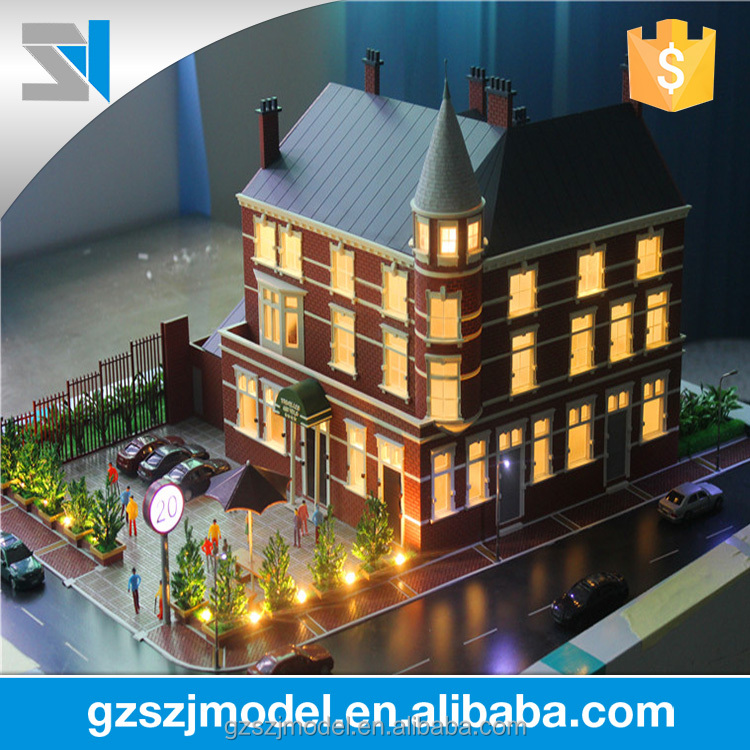 Architectural Model Supplies | Creditable Architectural Model Building Supplies With Villa Models