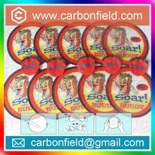 large quantity nylon indoor frisbee for promotional events