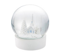 Custom house snowball souvenir glass photo snowball