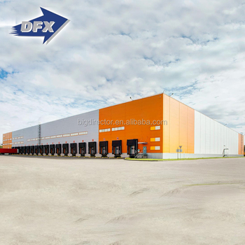 Famous Prefabricated Steel Structure Metal Factory Warehouse Construction Companies