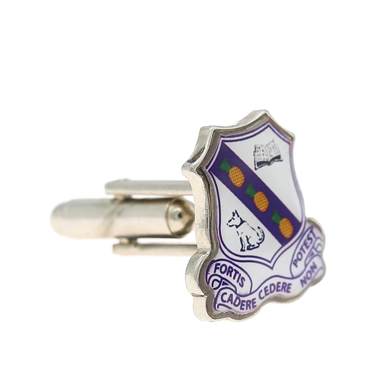 Promotional cheap custom logo blank cufflinks for men