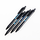 cheap black disposable ballpoint pen promotional plastic ball pen